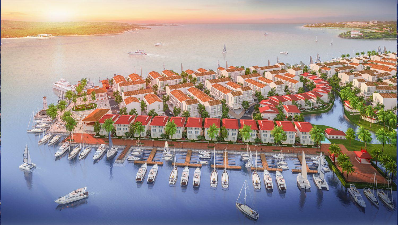 khu biệt thự dự án Marine City