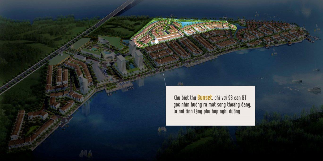 Phân khu biệt thự sunset Marine City