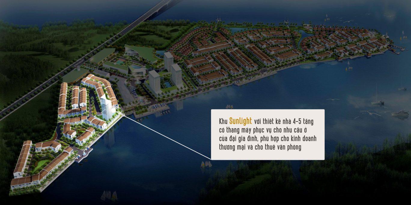 Phân khu nhà phố Sunlight Marine City